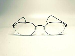 LINDBERG air titanium rim schwarz silber Brille Brillen Fassung Gestell Eyewear