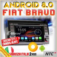 "AUTORADIO 8"" Android 8.0 dvd Octa-Core 2GB 32GB FIAT BRAVO gps navigatore 2018 /"