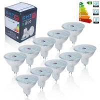 10x MR16 DC12V 5W LED Bulbs Spotlight SMD Lamps 50W Replacement Warm / Daylight