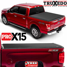 TruXedo Pro X15 Tonneau Roll Up Cover for 2017 Ford F250 F350 8 Foot Long Bed 98