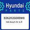 826202G000W9 Hyundai Hdl assyfr dr is r 826202G000W9, New Genuine OEM Part