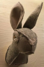 """Jessica"" Lovely Harris Tweed Faux Trophy Wall Art, Ideal Birthday Gift!"