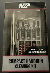 SMITH & WESSON M&P Compact Handgun Cleaning Kit -Fits .22-.45 Handgun (NEW)