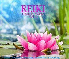 REIKI HEALING MUSIC VOL. 1 CD: MUSIC FOR REIKI, MASSAGE, RELAXATION & HEALING