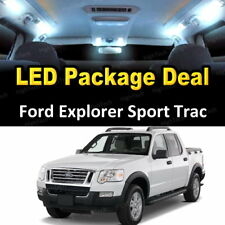 11x White LED Lights Interior Package Deal 2007 - 2010 Ford Explorer Sport Trac
