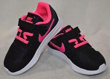 Nike Downshifter 7 (TDV) Black/Pink/Wht Toddler Girl's Shoes - Size 5C NWB