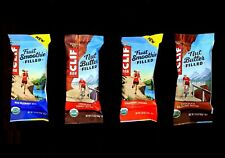 80 CLIF ENERGY BAR STRAWBERRY BANANA WILD BLUEBERRY ACAI HAZELNUT PEANUT BUTTER