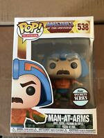 """FUNKO POP! MASTERS OF THE UNIVERSE #538 """"MAN-AT-ARMS"""" SPECIALTY SERIES *IN STOCK"""