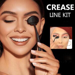 Portable Stamp Crease Line Kit Eyeshadow Fixer Stencil Makeup Tool Reusable