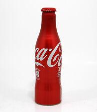 Coca Cola Coke Alu aluminum bottle Spain empty aluminio 2014 gift