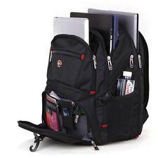 "15"" Waterproof Swiss Gear Men Travel Bags Macbook Laptop Hike Backpack UK STOCK"
