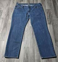 Old Navy Womens Size 12 Short The Diva Denim Blue Jeans