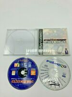 Sony PlayStation 1 PS1 Disc Manual Only RollCage Limited Edition w/ Bonus Disc