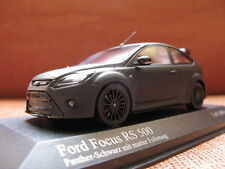 1/43 Minichamps Ford Focus RS500 RS 500 (Matt Black) diecast