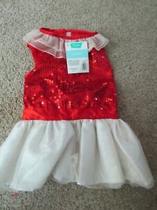 Frisco Pet Apparel RED SEQUINED DRESS Sz L NWT From Chewy