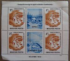 Hongrie, bloc n°105, conférence d'Helsinki, 1973