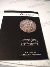Catalogo asta monete antiche KUNKER 15/03/2017