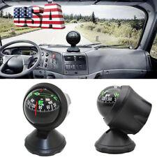Pocket Mini Car Dashboard Compass Ball Dash Mount Navigation Hiking Camping US