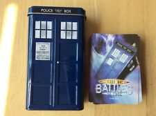 Doctor Who Battles In Time Cards Complete With Tin! Look In The Shop!