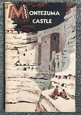 1958 MONTEZUMA CASTLE well National Park Service Handbook Sinagua indian Arizona