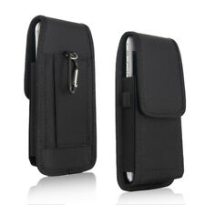 Belt Clip Vertical Holster Pouch Carry Case For i Phone Samsung Large Cell Phone