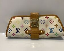 Vintage Louis Vuitton Monogram Multicolor Clutch Bag