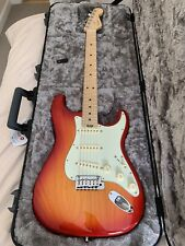 Fender American Elite Stratocaster Aged Cherry