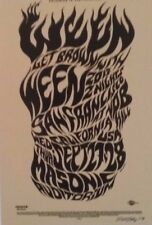 Ween | A Tribute to Wes Wilson | Art by EMEK- Orig. 2017 Concert Card