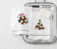 Gift HOLIDAY METALLIC TOWELS SET OF 2 Holiday Hostess 127140 Guest