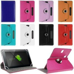 Universal 360 Rotating PU Leather Ultra Slim Case Cover For 10 Inch Tablet