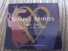 Simple Minds Collectors Edition Love Song Alive & Kicking 1992