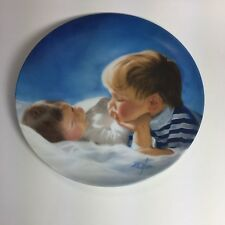 "Brotherly Love by Donald Zolan 7 1/2"" Collector Plate Pemberton & Oakes"