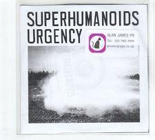 (GP793) Superhumanoids Urgency, Persona - DJ CD
