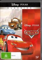CARS - DISNEY - NEW & SEALED REGION 4 DVD FREE LOCAL POST