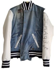 Greg Lauren Mens varsity jacket
