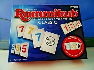 NEW Sealed-Rummikub Rummy Tile Game Official Original Classic BONUS W/3 JOKERS
