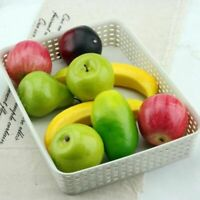 Decorative Artificial Foam Coated Fruits For Kitchen Home Decorations 5pcs Sets