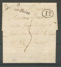 1831 Lettre Cursive 9 Gyé-sur-Seine PD AUBE(9) Indice 13 X2370