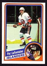 1984-85 O-PEE-CHEE #129 PAT LaFONTAINE ISLANDERS ROOKIE