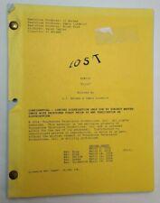 Lost / J.J. Abrams 2004 Tv Script, Pilot Episode Matthew Fox & Evangeline Lilly
