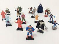 12 Superhero & Villains Marvel DC Comics Mini Figures Batman Superman Spiderman