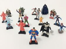 12 Superhero & Villains Marvel DC Comics Mini Figures Batman Superman Spiderman