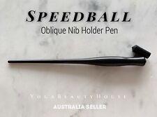 Genuine Speedball Oblique Nib Holder Pen (Calligraphy drawing dip writing brause