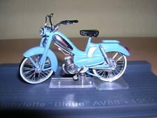 """IXO ALTAYA MOBYLETTE"""" BLEUE """" AV88 AV 88 AZUL CLARO BJ 1959 MOTO 1:24 MOTO"""