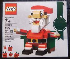 LEGO 40206 ~ SANTA CLAUS CHRISTMAS HOLIDAY SET ~ 155 PCS. NEW IN BOX