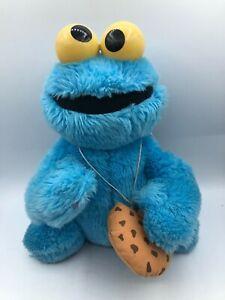 Vtg Hasbro Softies 1985 Sesame Street Cookie Monster Plush Stuffed Toy Animal