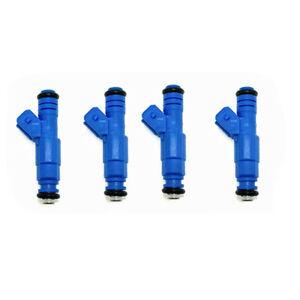 Set (4) Bosch Upgrade EV1 24LB Fuel Injectors 0280150761for 1989-1994 Saab 900