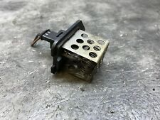 2005 PEUGEOT 206CC 2DR CONVERTIBLE HEATER BLOWER FAN RESISTOR