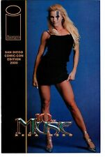 10Th Muse Rena Mero Sable San Diego Comi-Con Edition Preview 2000 Vf/Nm Wolfman