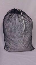Heavy Duty 30x40 Mesh Laundry Bag - Black *Made In Usa*